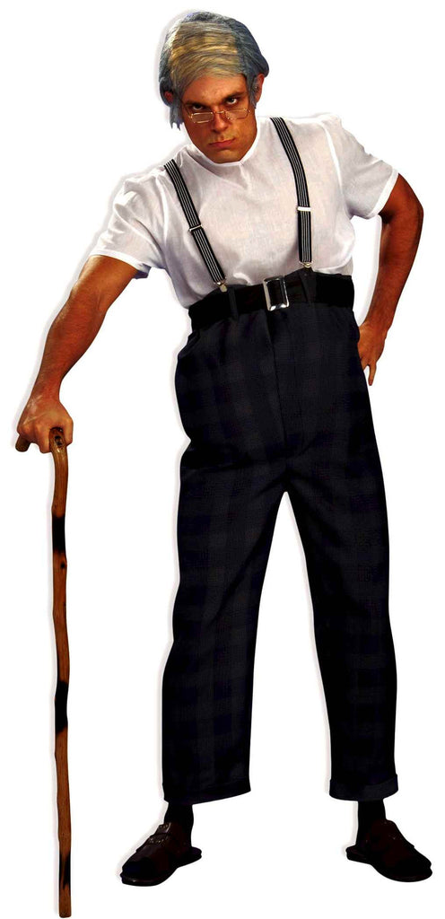 Old Man Funny Halloween Costumes Adult - HalloweenCostumes4U.com - Adult Costumes