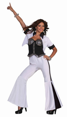 Halloween Disco Diva Women's Costumes - HalloweenCostumes4U.com - Adult Costumes