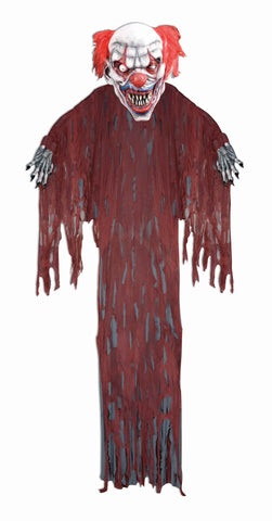 12' Hanging Clown Prop - HalloweenCostumes4U.com - Decorations