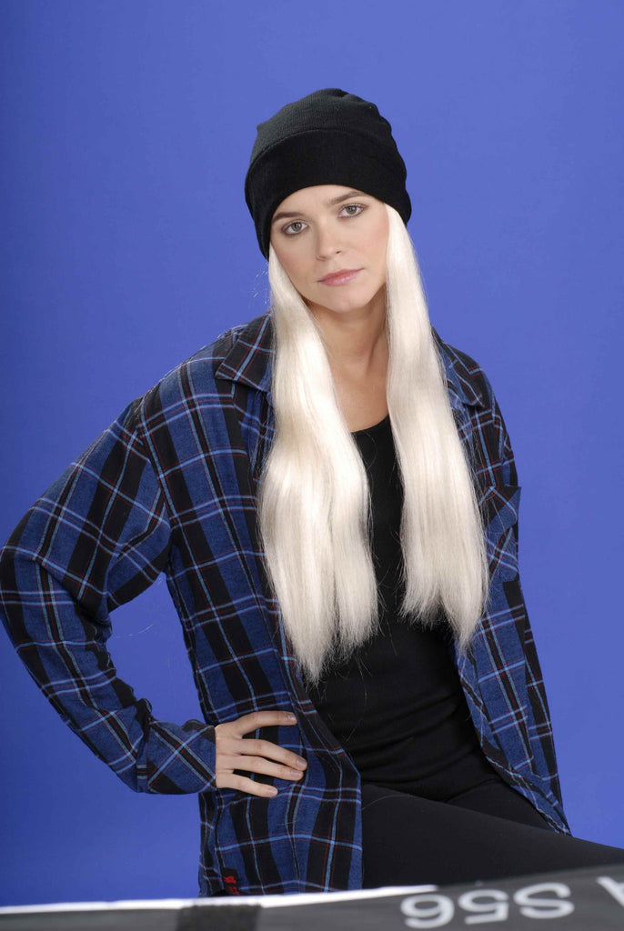 Grunge Wig and Hat - HalloweenCostumes4U.com - Accessories