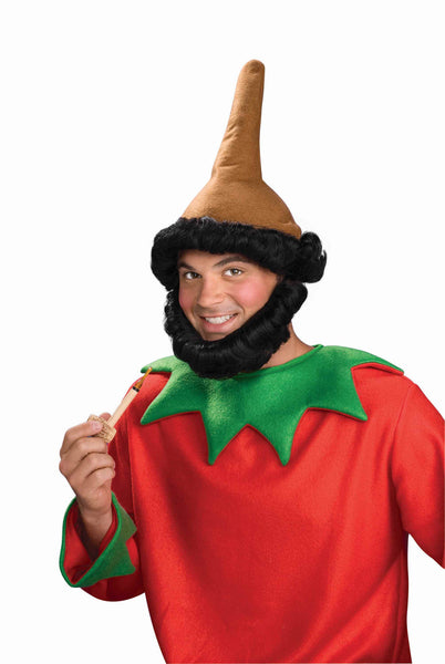 Christmas Elf Hat and Beard - HalloweenCostumes4U.com - Holidays - 2