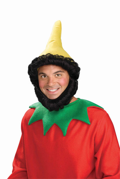 Christmas Elf Hat and Beard - HalloweenCostumes4U.com - Holidays - 1
