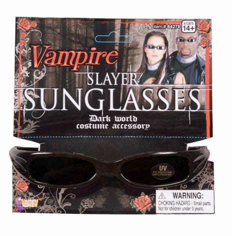 Halloween Vampire Slayer Sunglasses - HalloweenCostumes4U.com - Accessories