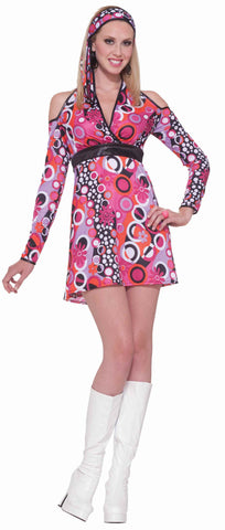 Women's Halloween 60's Mod Costume Dress - HalloweenCostumes4U.com - Adult Costumes