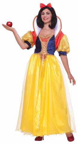 Women's Snow White Deluxe Costume - HalloweenCostumes4U.com - Adult Costumes