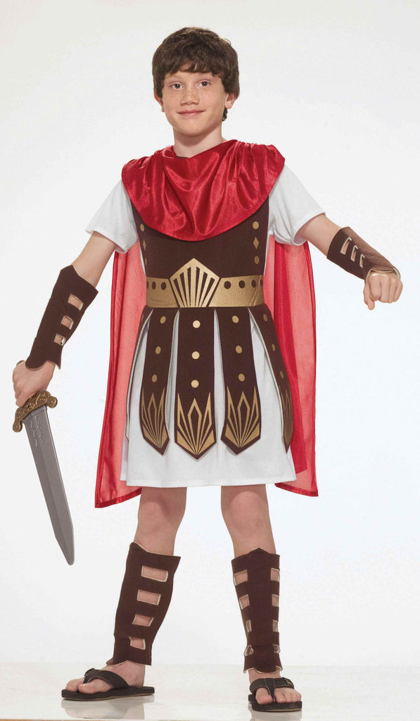 Boys Roman Warrior Costume - HalloweenCostumes4U.com - Kids Costumes