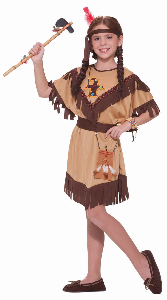 Girls Native American Princess Costume - HalloweenCostumes4U.com - Kids Costumes