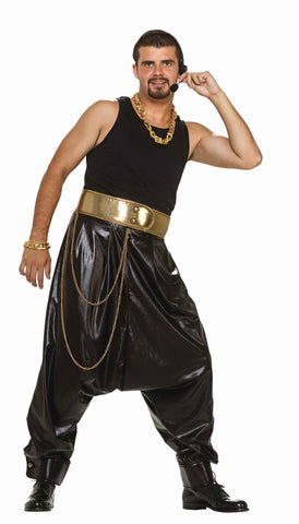 Eighties MC Rapper Halloween Pants - HalloweenCostumes4U.com - Adult Costumes
