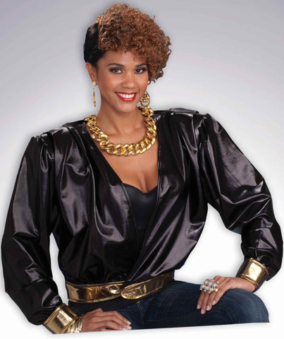 Eighties Rap Star Costume Jacket - HalloweenCostumes4U.com - Adult Costumes
