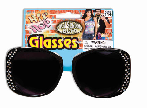 Ladies Hip Hop Halloween Sunglasses - HalloweenCostumes4U.com - Accessories