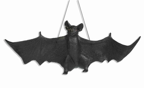 "24"" Hanging Bat Prop - HalloweenCostumes4U.com - Decorations"