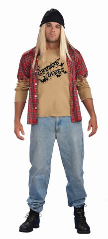 Mens Grunge Rocker Costume - HalloweenCostumes4U.com - Adult Costumes