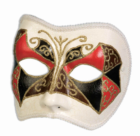Classic Halloween Masquarde Mask - HalloweenCostumes4U.com - Accessories