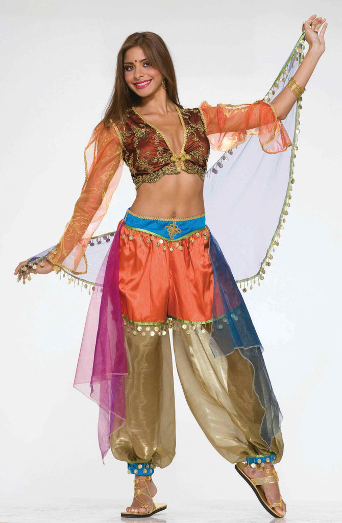 Designer Arab Harem Dancer Costume for Women - HalloweenCostumes4U.com - Adult Costumes