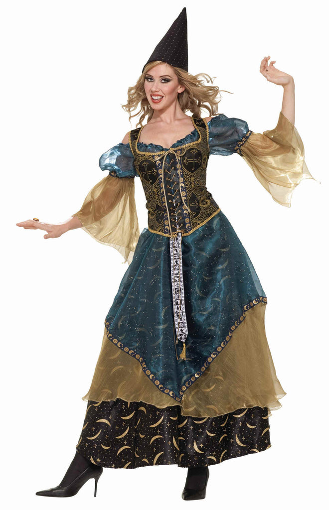 Designer Halloween Costumes Wizardess Costume - HalloweenCostumes4U.com - Adult Costumes