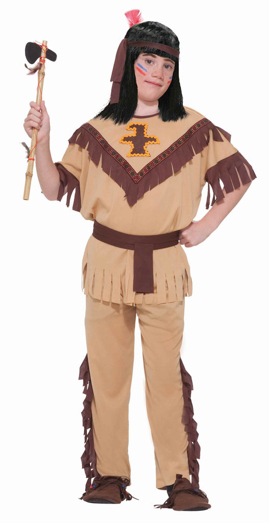 Girls Native American Brave Costume - HalloweenCostumes4U.com - Kids Costumes