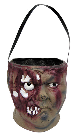 Halloween Zombie Head Candy Bowl - HalloweenCostumes4U.com - Decorations