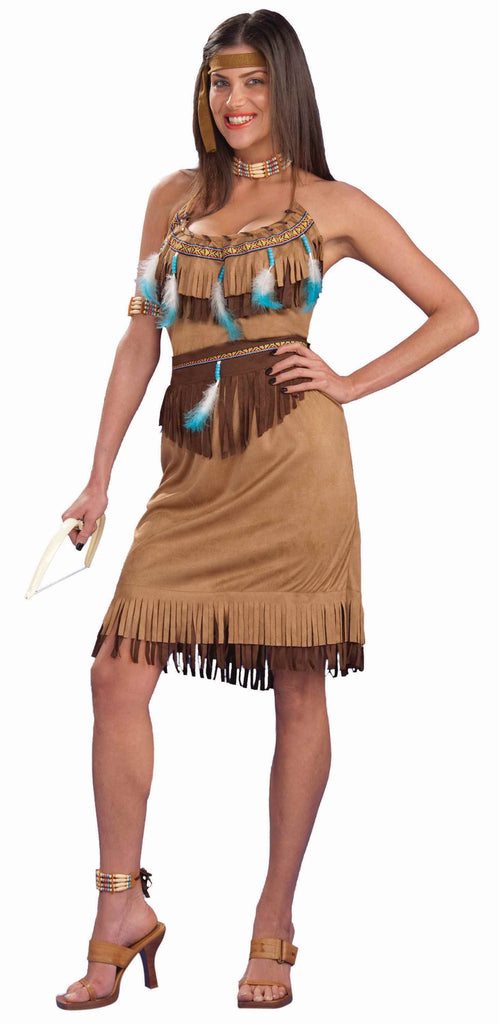 Womens Indian Princess Costume - HalloweenCostumes4U.com - Adult Costumes