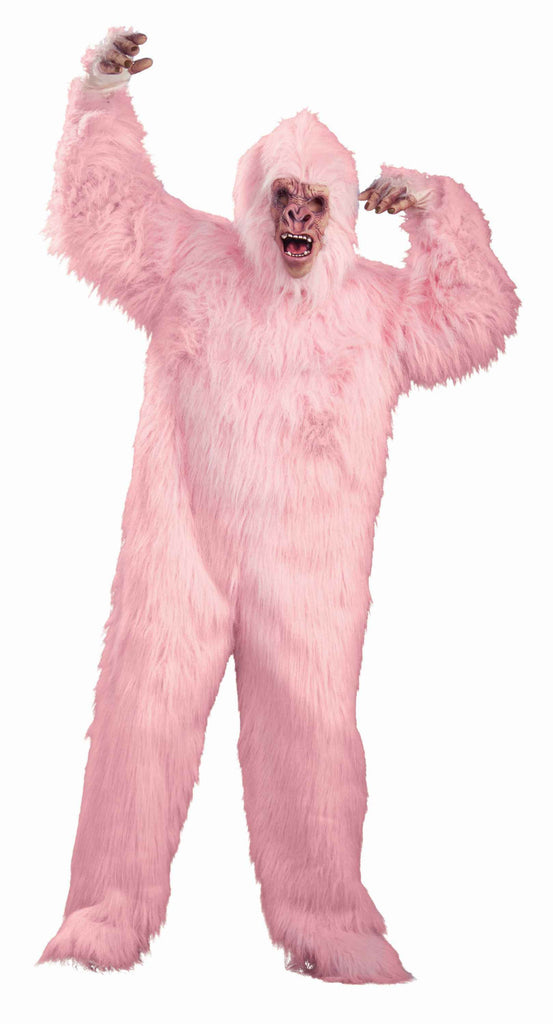 Gorilla Suits Pink Gorilla Costume Suit - HalloweenCostumes4U.com - Costumes