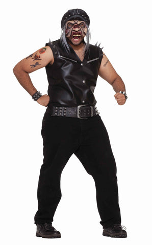 Scary Biker Dude Adult Costume for Halloween - HalloweenCostumes4U.com - Adult Costumes