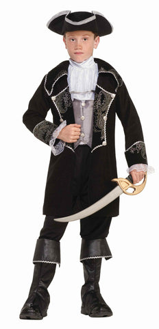 Boys Deluxe Swash Buckler Pirate Costume - HalloweenCostumes4U.com - Kids Costumes