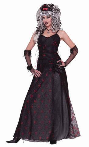 Halloween Zombie Prom Queen Costumes Women - HalloweenCostumes4U.com - Adult Costumes