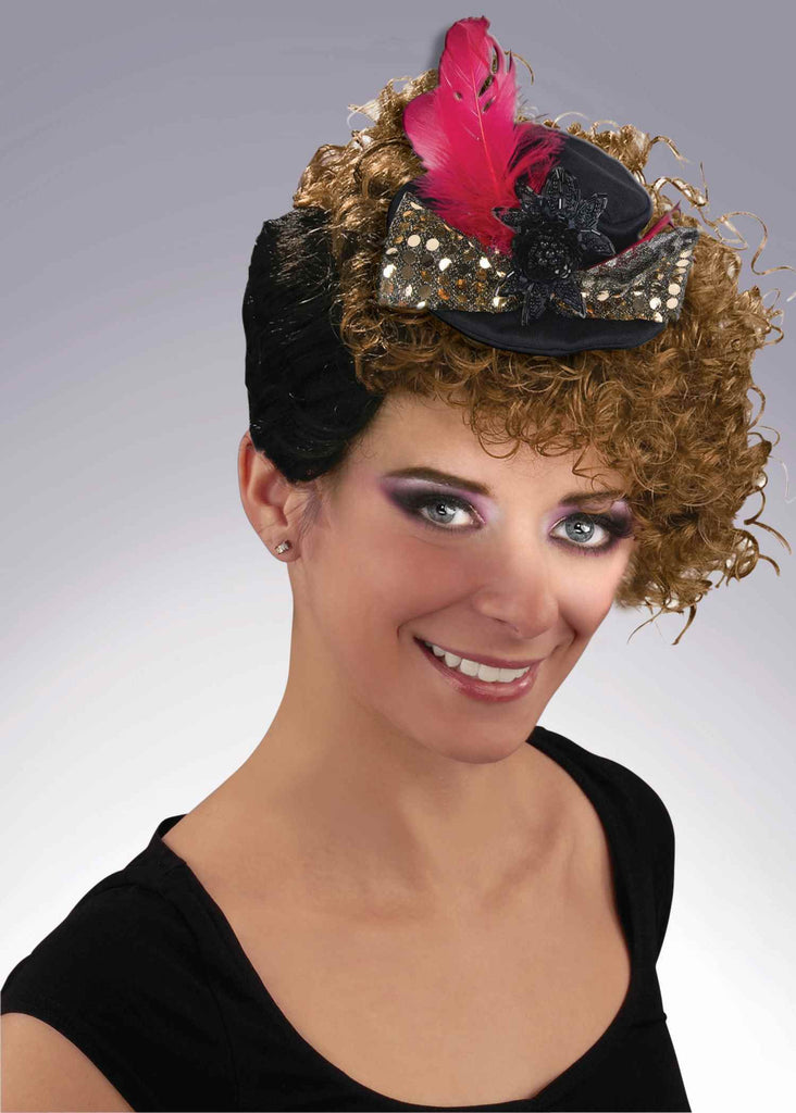 Elegant Lady's Mini Top Hat - HalloweenCostumes4U.com - Accessories