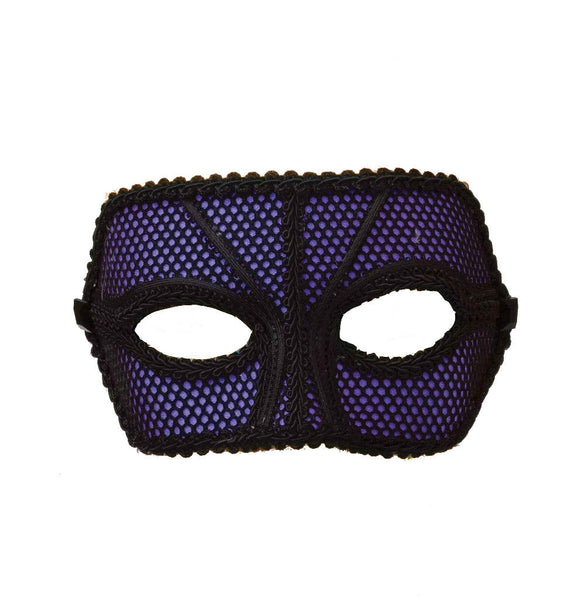 80's Fishnet Mask - Various Colors