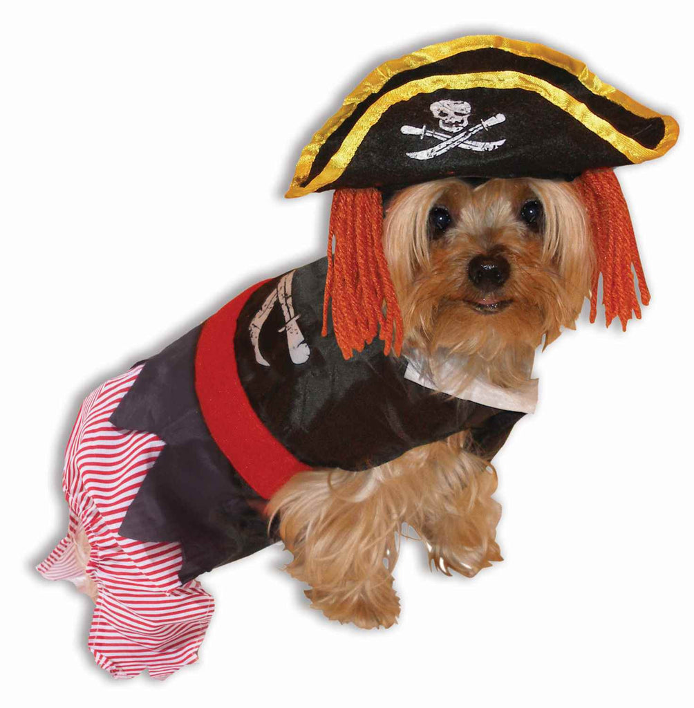 Pirate Halloween Costumes for Dogs or Cats - HalloweenCostumes4U.com - Pet Costumes & Accessories