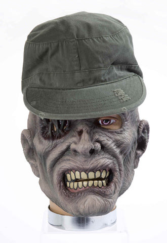 Military Zombie Masks Zombie Sergeant Mask - HalloweenCostumes4U.com - Accessories