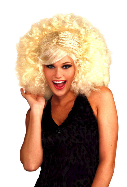 Funky Pop Afro Wig - Various Colors - HalloweenCostumes4U.com - Accessories - 2