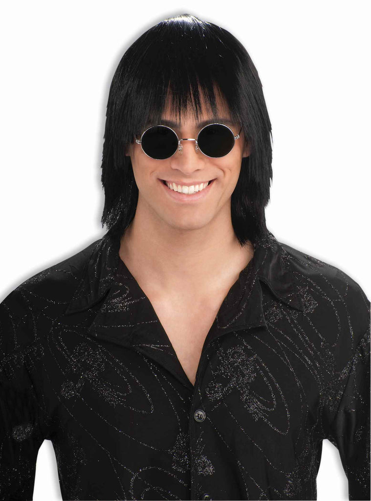 Disco Guy Halloween Wig Party Guy Wig - HalloweenCostumes4U.com - Accessories