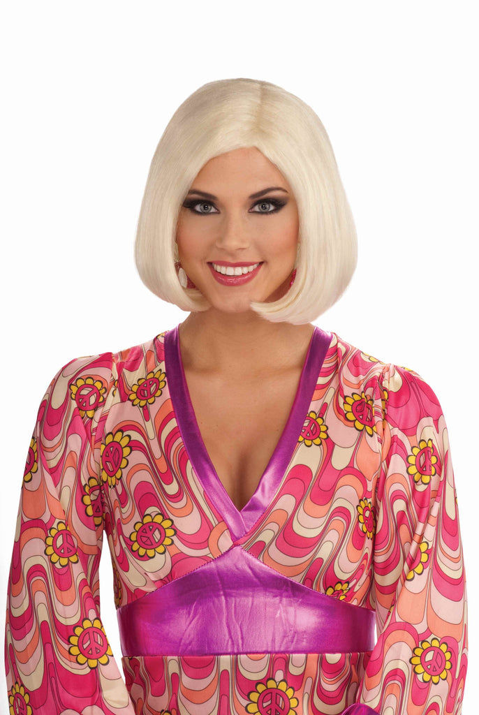 Sixties Wigs Blonde Go Go Gal Wig - HalloweenCostumes4U.com - Accessories