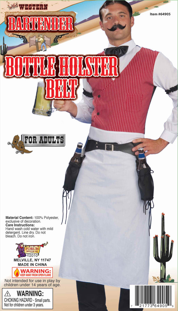 Wild West Bartender Bottles Holster