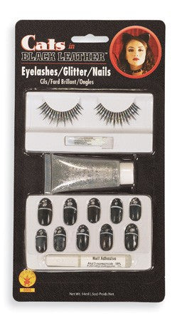Black Cat Makeup Kit - HalloweenCostumes4U.com - Accessories