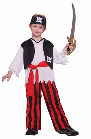Boys Pirate Boy Costume - HalloweenCostumes4U.com - Kids Costumes
