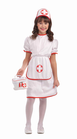 Girls Nurse Costume - HalloweenCostumes4U.com - Kids Costumes
