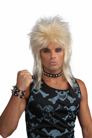 80's Hair Band Rockstar Wig - HalloweenCostumes4U.com - Accessories