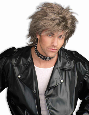 Eighties Punk Rocker Wig Halloween Wig Dirty Blond - HalloweenCostumes4U.com - Accessories