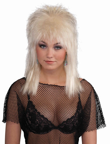 Halloween European Punk Wig Blonde - HalloweenCostumes4U.com - Accessories