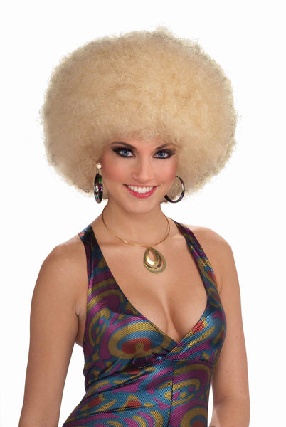 Deluxe Afro Wig - Various Colors - HalloweenCostumes4U.com - Accessories - 1