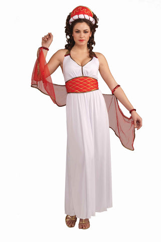 Deluxe Roman Goddess Costume for Women - HalloweenCostumes4U.com - Adult Costumes
