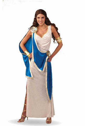 Deluxe Greek Goddess Costume for Women - HalloweenCostumes4U.com - Adult Costumes