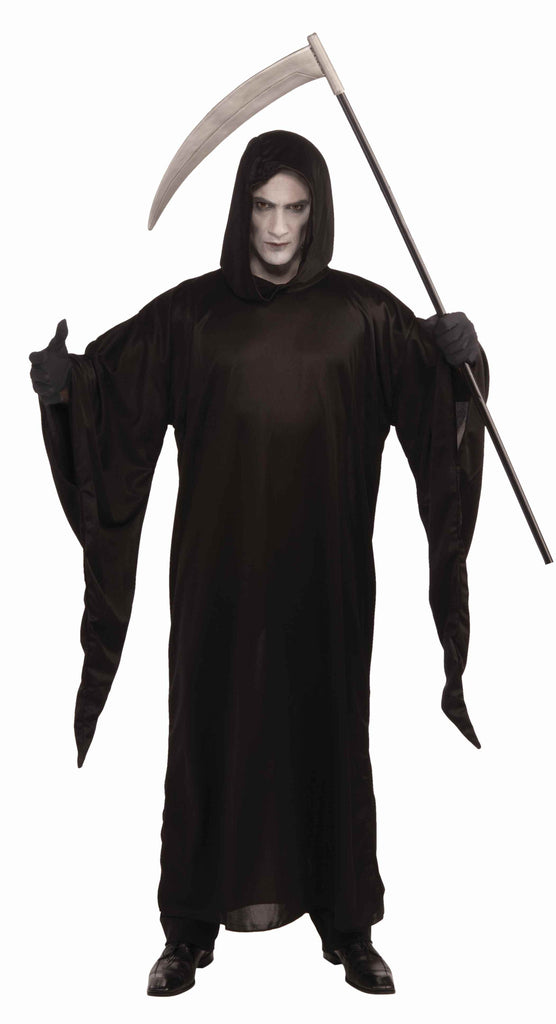 Grim Reaper Halloween Costume Robe Adult