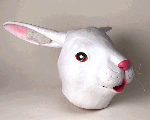 Deluxe Bunny Masks Latex Rabbit Mask - HalloweenCostumes4U.com - Accessories
