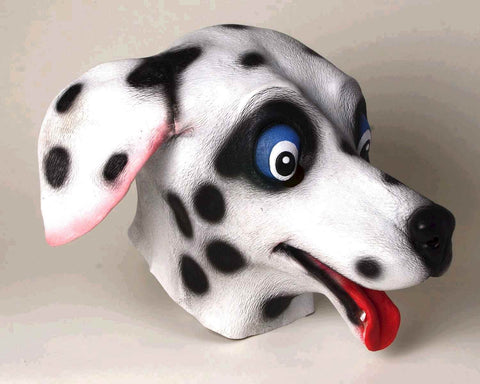 Dalmatian Mask Deluxe Latex Mask - HalloweenCostumes4U.com - Accessories