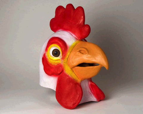 Deluxe Chicken Mask - HalloweenCostumes4U.com - Accessories