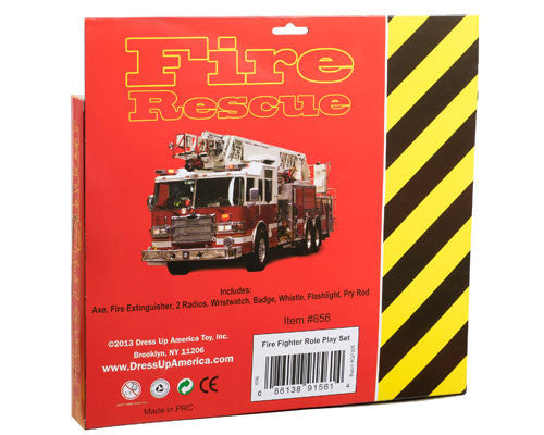 Firefighter Accessory Kit - HalloweenCostumes4U.com - Accessories - 3