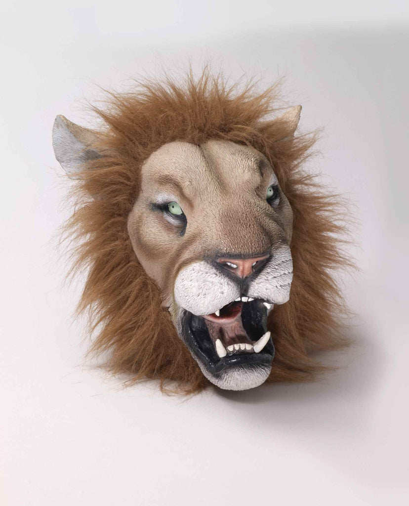 Lion Mask Deluxe Latex Lion Mask - HalloweenCostumes4U.com - Accessories