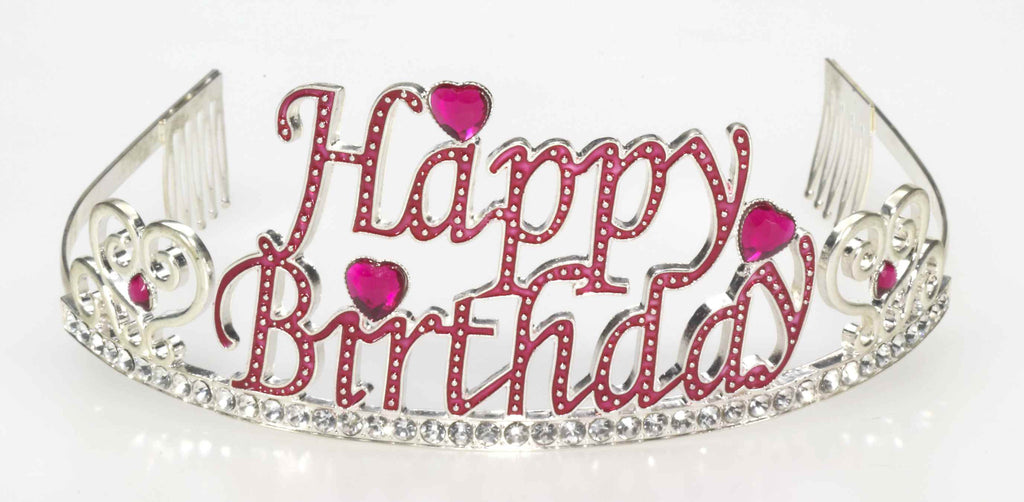 Happy Birthday Gem Tiara-No # - HalloweenCostumes4U.com - Accessories